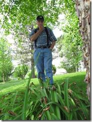 Dad and cicadas